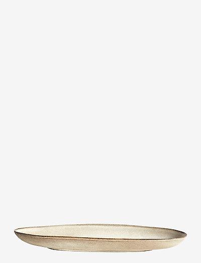 Long oval tray Mame - tarjoiluastiat ja -lautaset - Østers