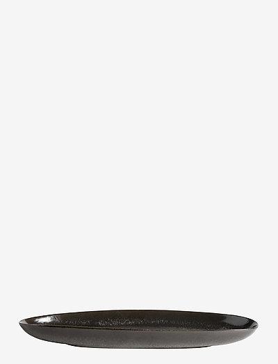 Long oval tray Mame - tarjoiluastiat ja -lautaset - kaffe