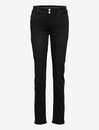 35 THE REGITZE 100 HIGH STRAIGHT X - skinny jeans - black wash
