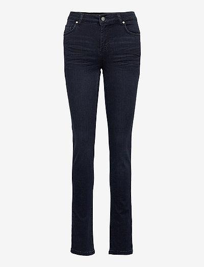 33 THE CELINA 100 HIGH STRAIGHT Y - skinny jeans - dark blue wash