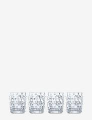 Nachtmann - Punk Tumbler 34,8cl 4-p - whiskyglass & cognacglass - clear glass - 0