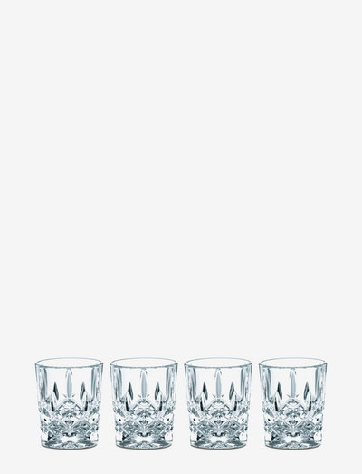 Noblesse Shot 4-p - snapsglass & likørglass - clear glass