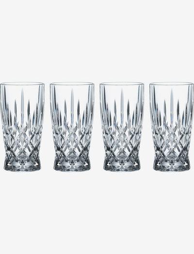 Noblesse Softdrink 37 cl 4-p - Ølglass - clear glass