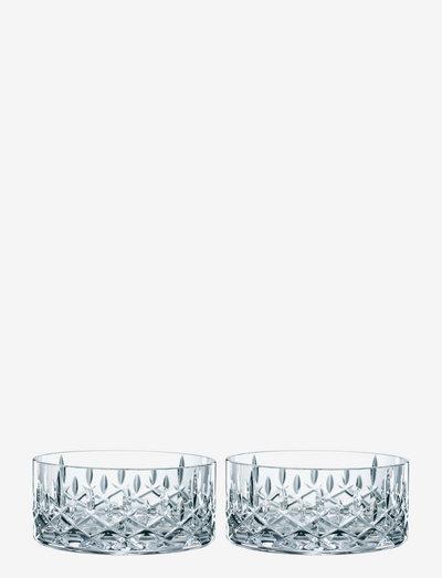 Noblesse Skål 11cm 2-p - skåler - clear glass