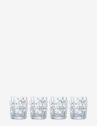 Punk Tumbler 34,8cl 4-p - whiskyglass & cognacglass - clear glass