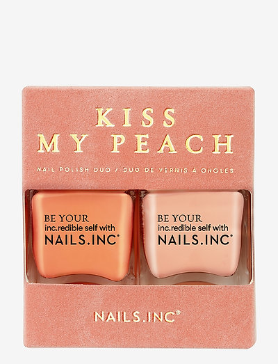 KISS MY PEACH DUO KIT - neglelak - multi-colored