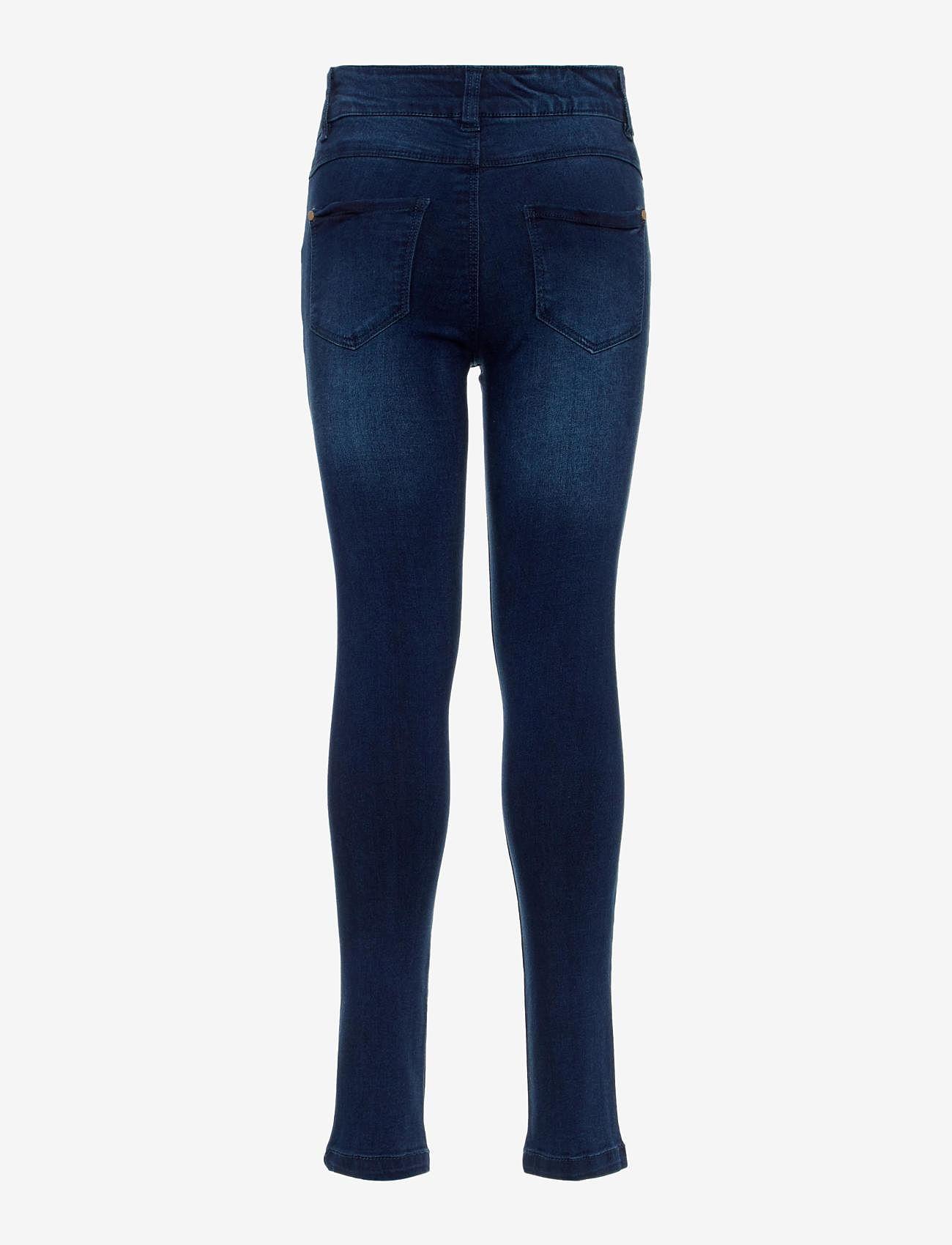 name it - NKFPOLLY DNMTRILLAS 3001 PANT NOOS - jeans - dark blue denim - 1