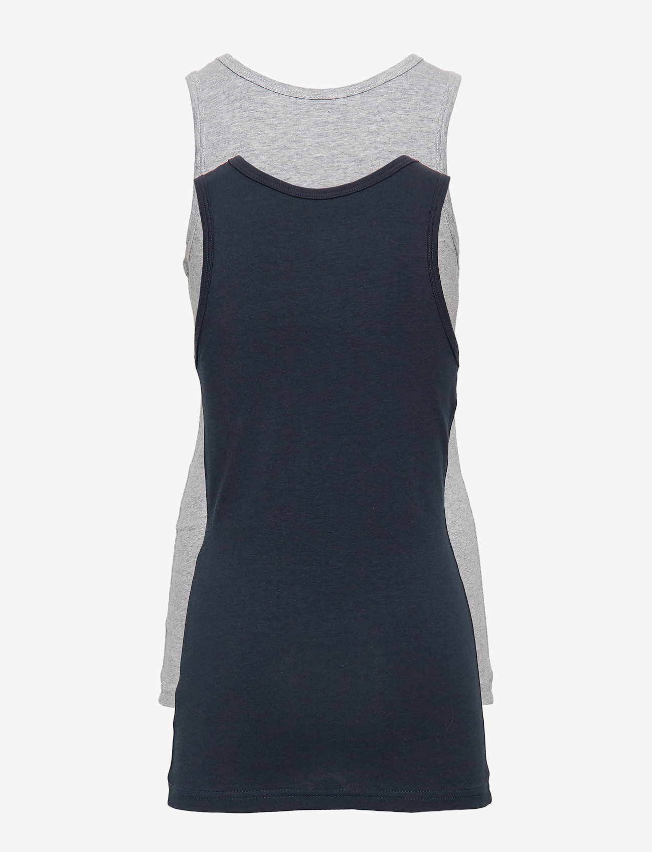 name it - NKMTANK TOP 2P GREY MELANGE NOOS - Ærmeløse - grey melange - 1