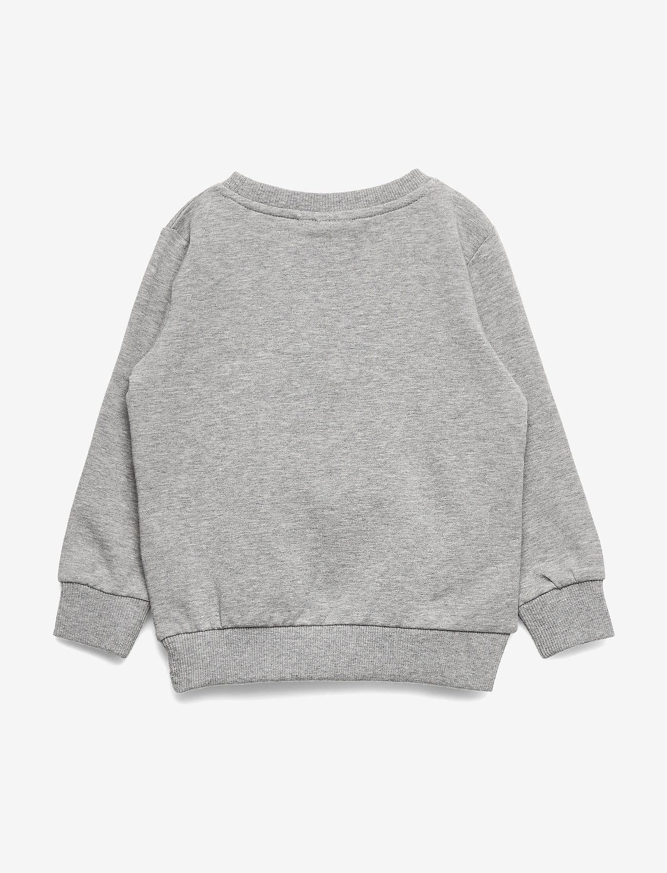 Name It Nmftopandu Ls Sweat Bru Box - Överdelar Grey Melange