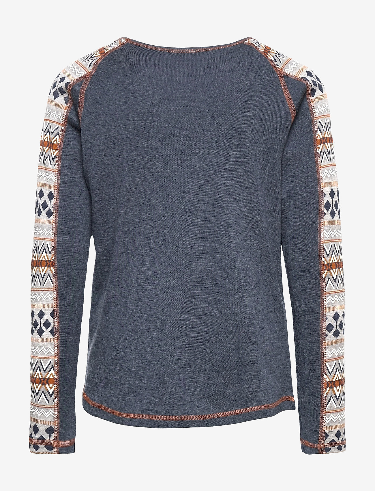 name it - NKMWILLTO WOOL LS TOP NOOS XX - basislag - ombre blue - 1