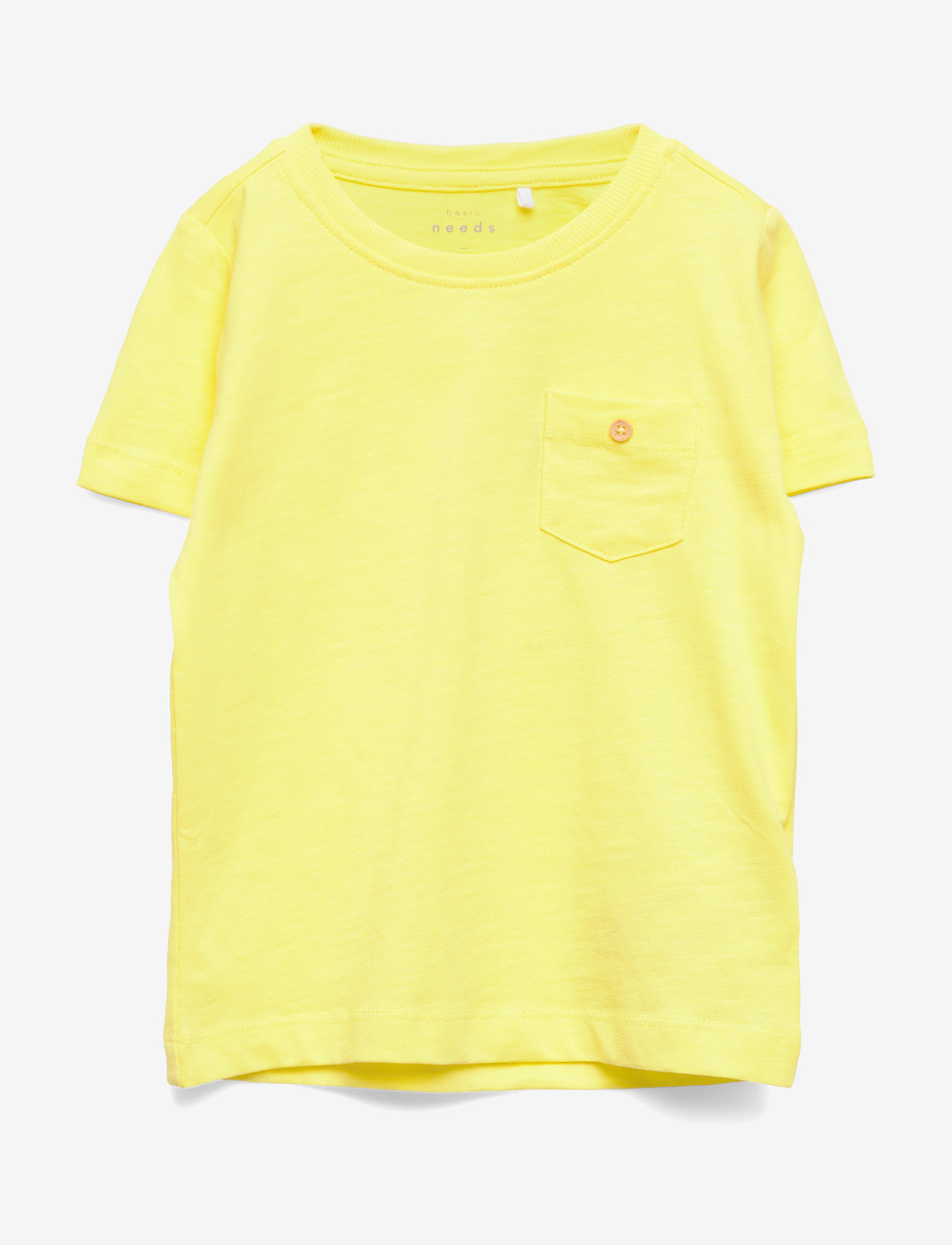 name it - NMMVEBBE SS TOP H - short-sleeved - limelight