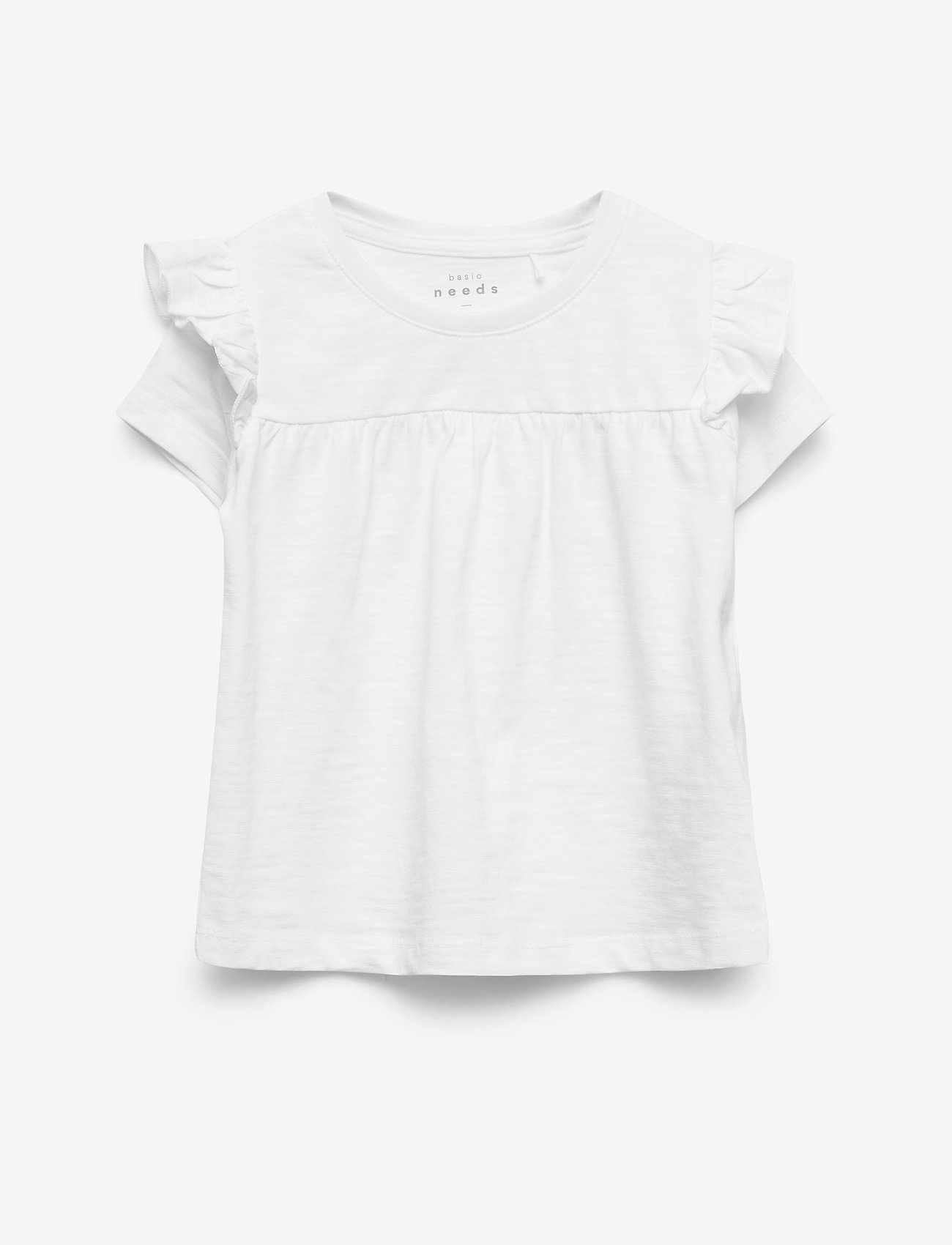 name it - NMFVAVINA SS  TOP H - short-sleeved - bright white