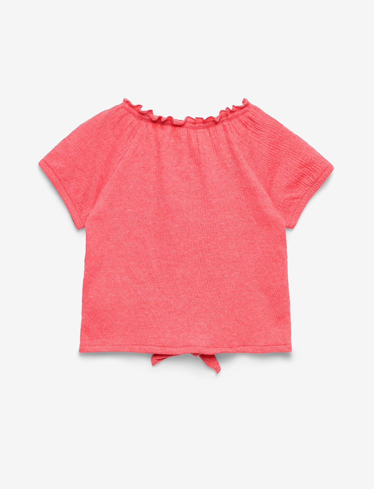name it - NMFHASWEET SS TOP - short-sleeved - calypso coral