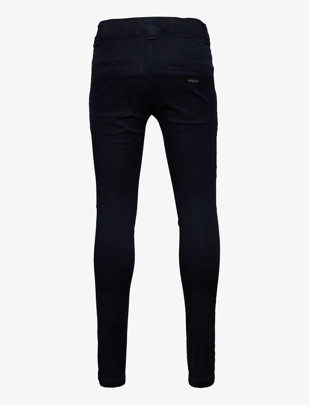 name it - NKMSILAS TWITICKAS CHINO NOOS - trousers - dark sapphire - 1