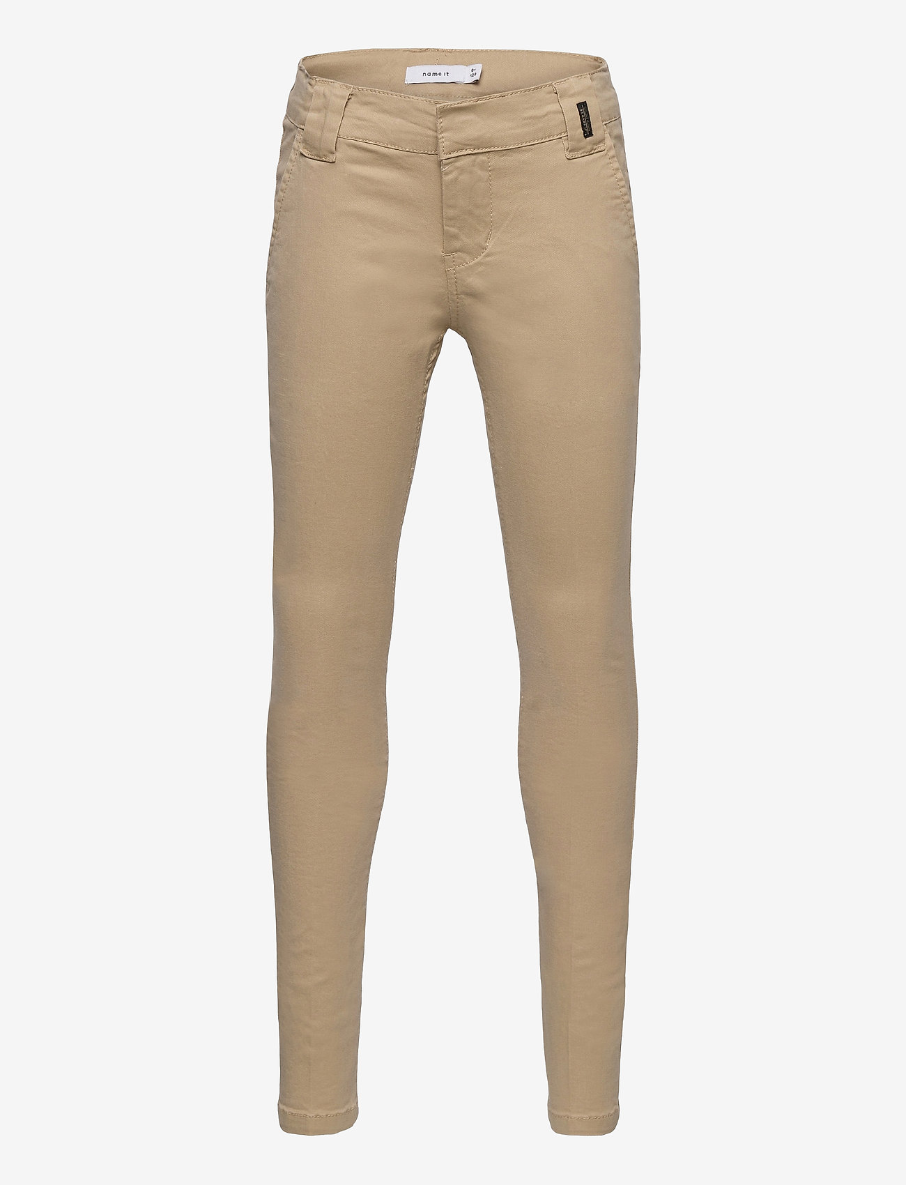 name it - NKMSILAS TWITICKAS CHINO NOOS - trousers - incense - 0