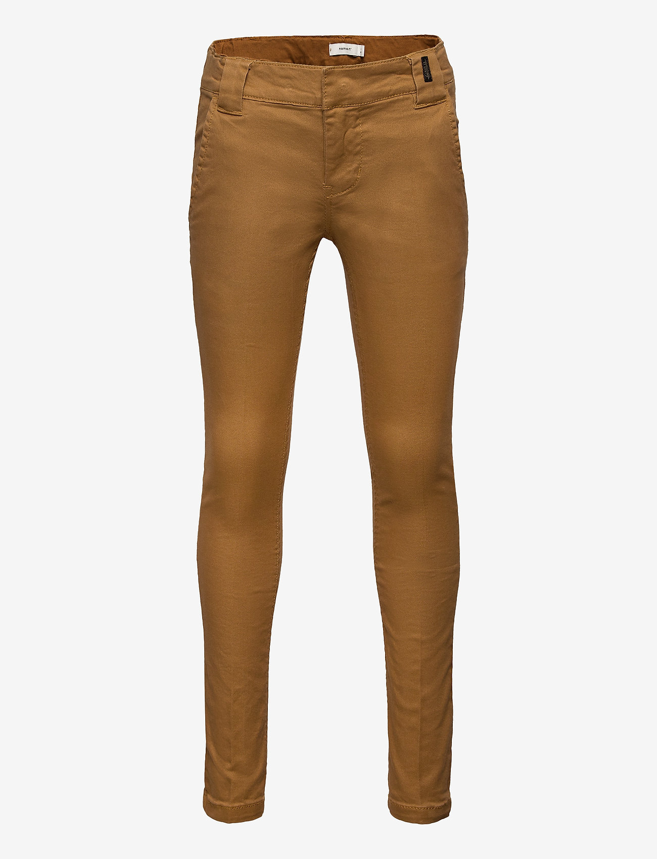 name it - NKMSILAS TWITICKAS CHINO NOOS - trousers - medal bronze - 0