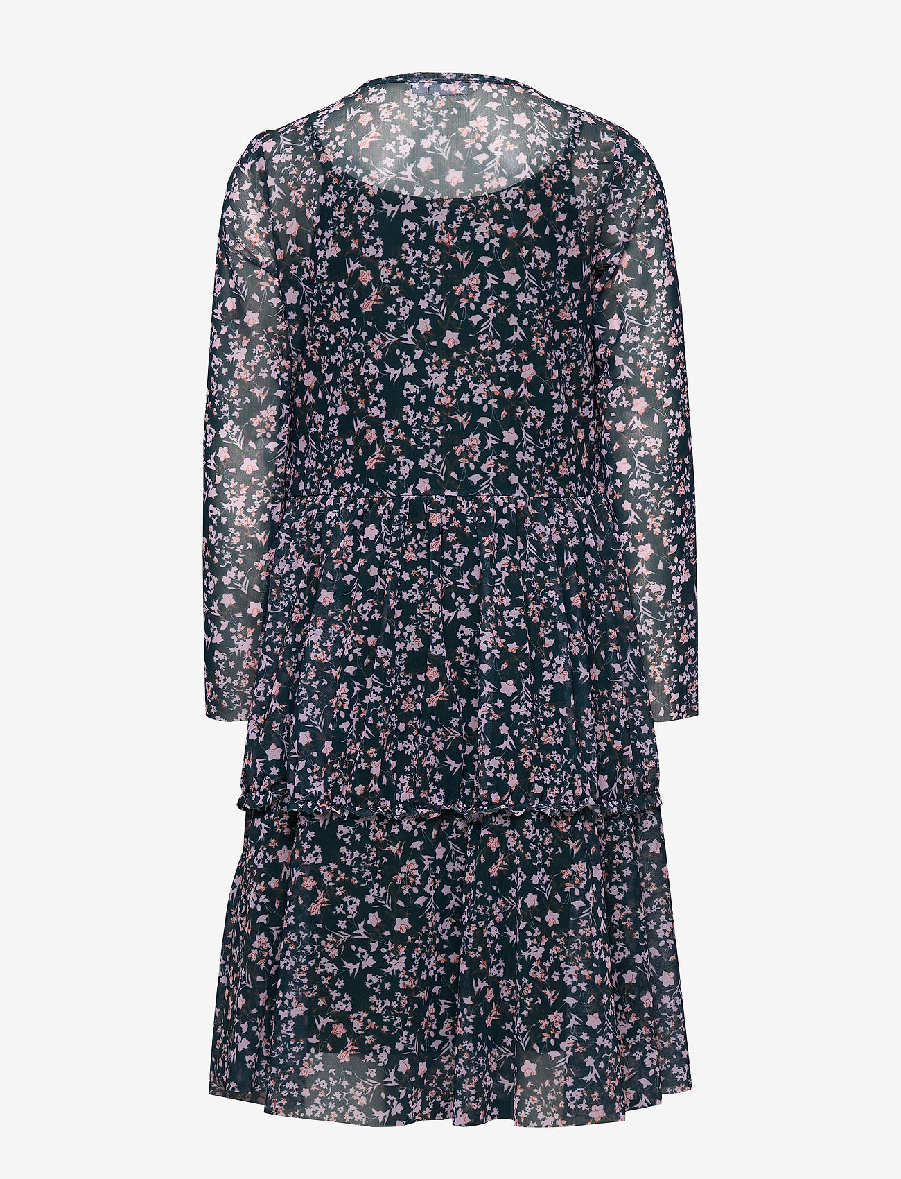 name it - NKFKLARISA LS DRESS - robes - darkest spruce - 1