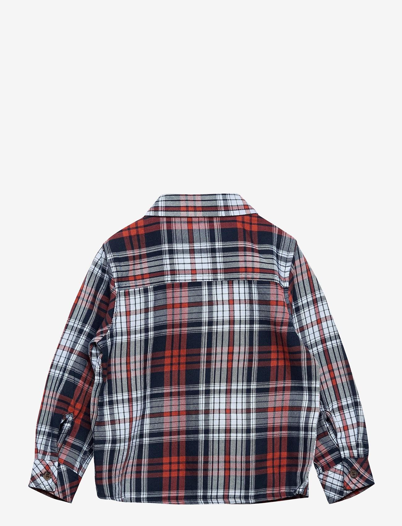 name it - NMMODDER LS SHIRT - overhemden - burnt brick - 1