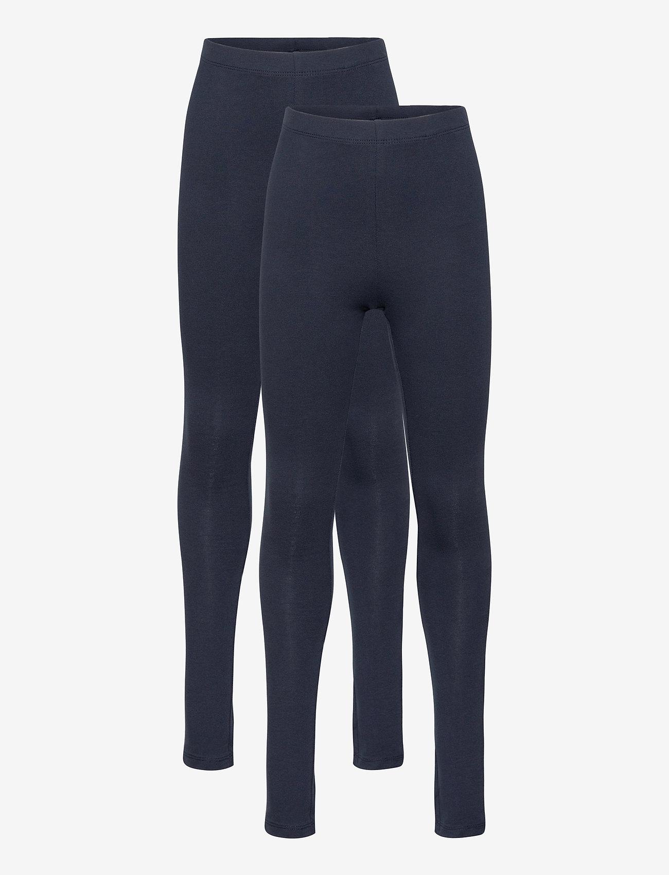 name it - NKFVIVIAN 2P LEGGING NOOS - leggings - dark sapphire - 0