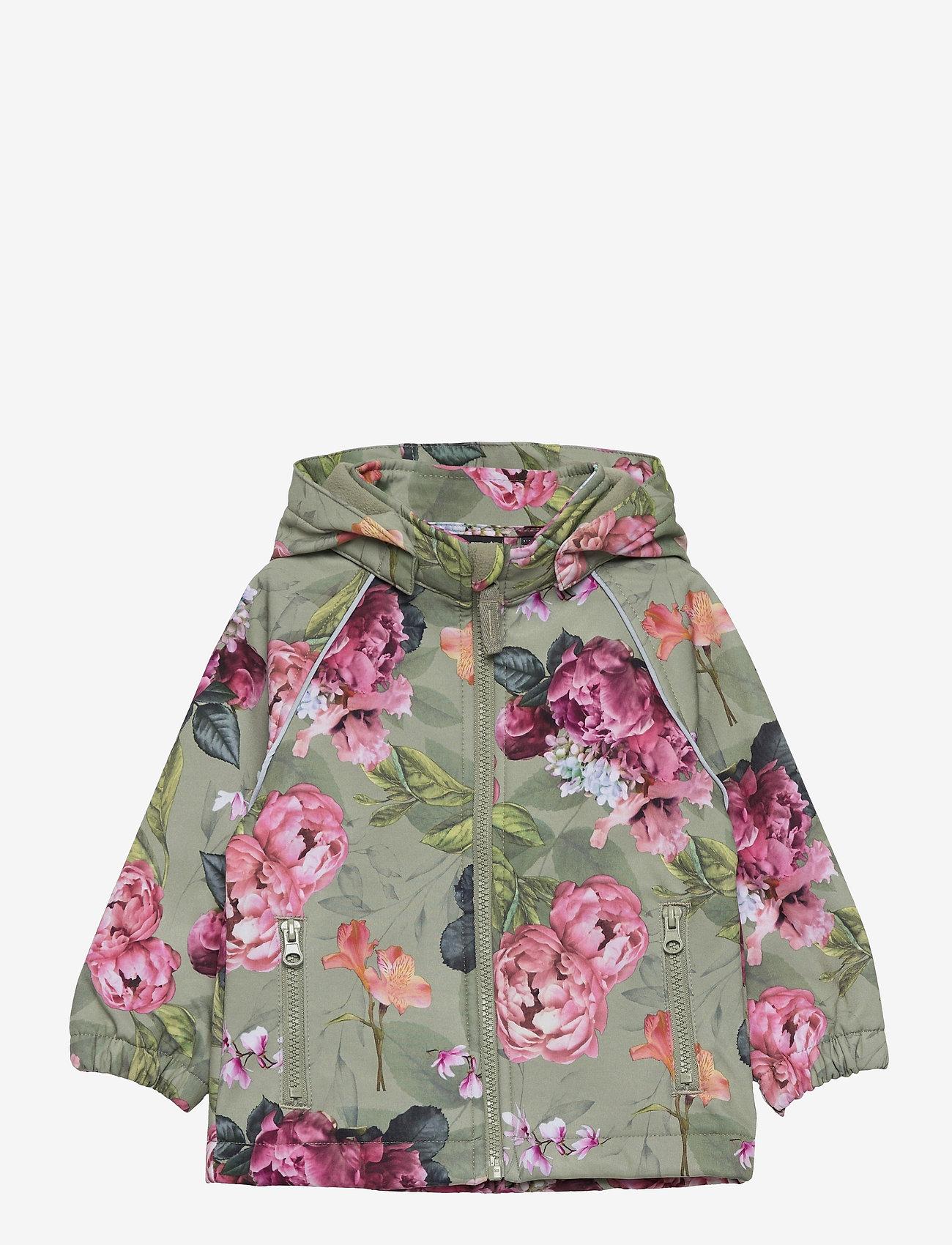 name it - NMFALFA JACKET PEONY  FO - sweatshirts & hoodies - lily pad - 0