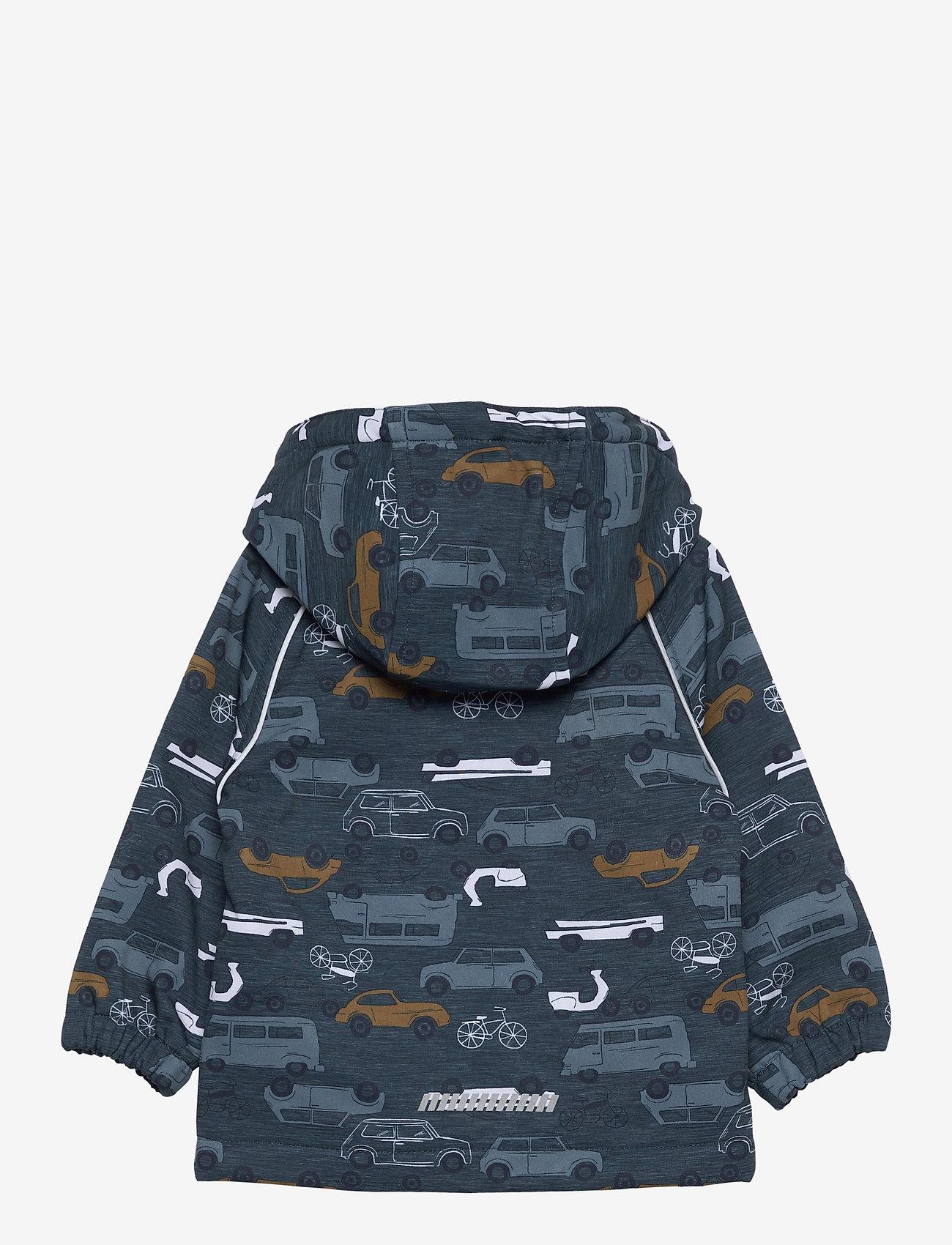 name it - NMMALFA JACKET VINTAGE TRAFIC FO - hoodies - midnight navy - 1