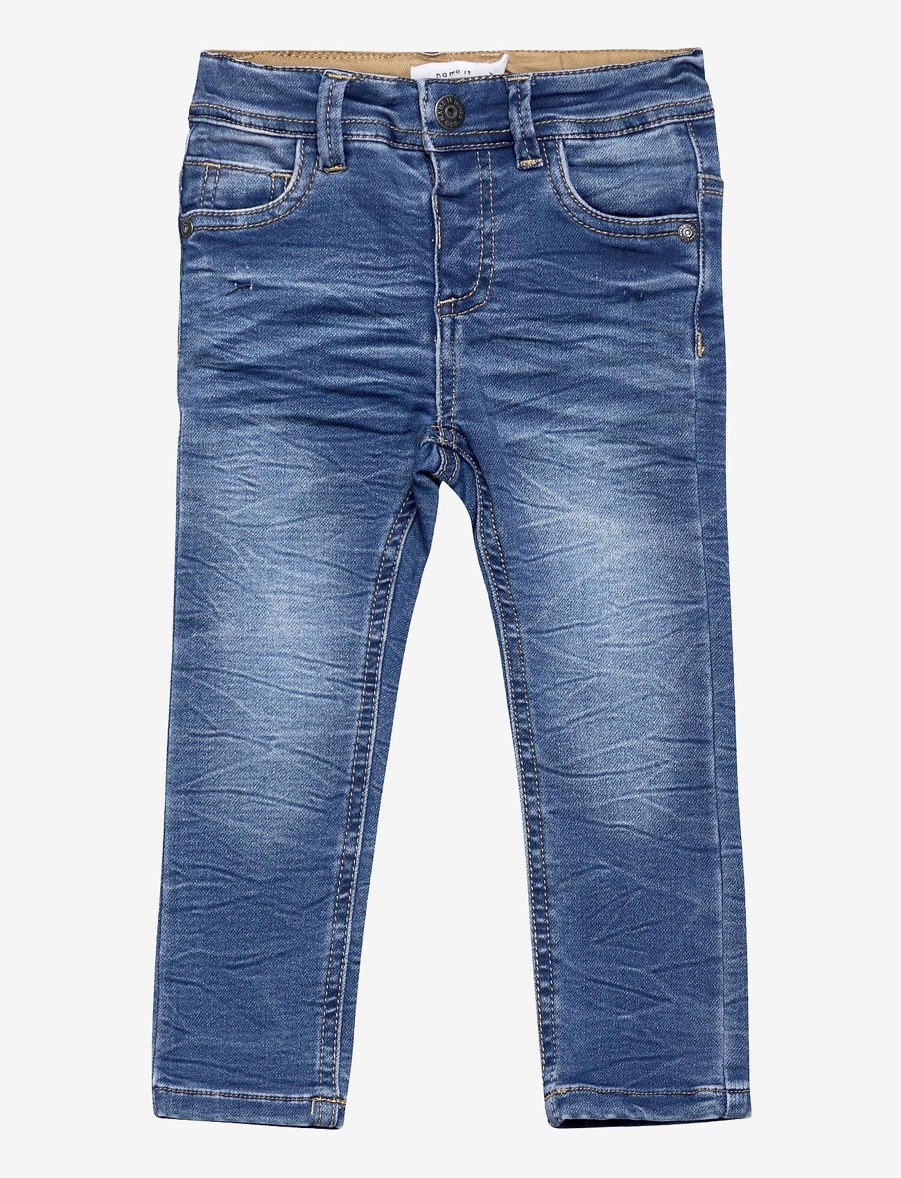 name it - NMMTHEO DNMTOBOS 2458 SWE PANT NOOS - jeans - medium blue denim - 0
