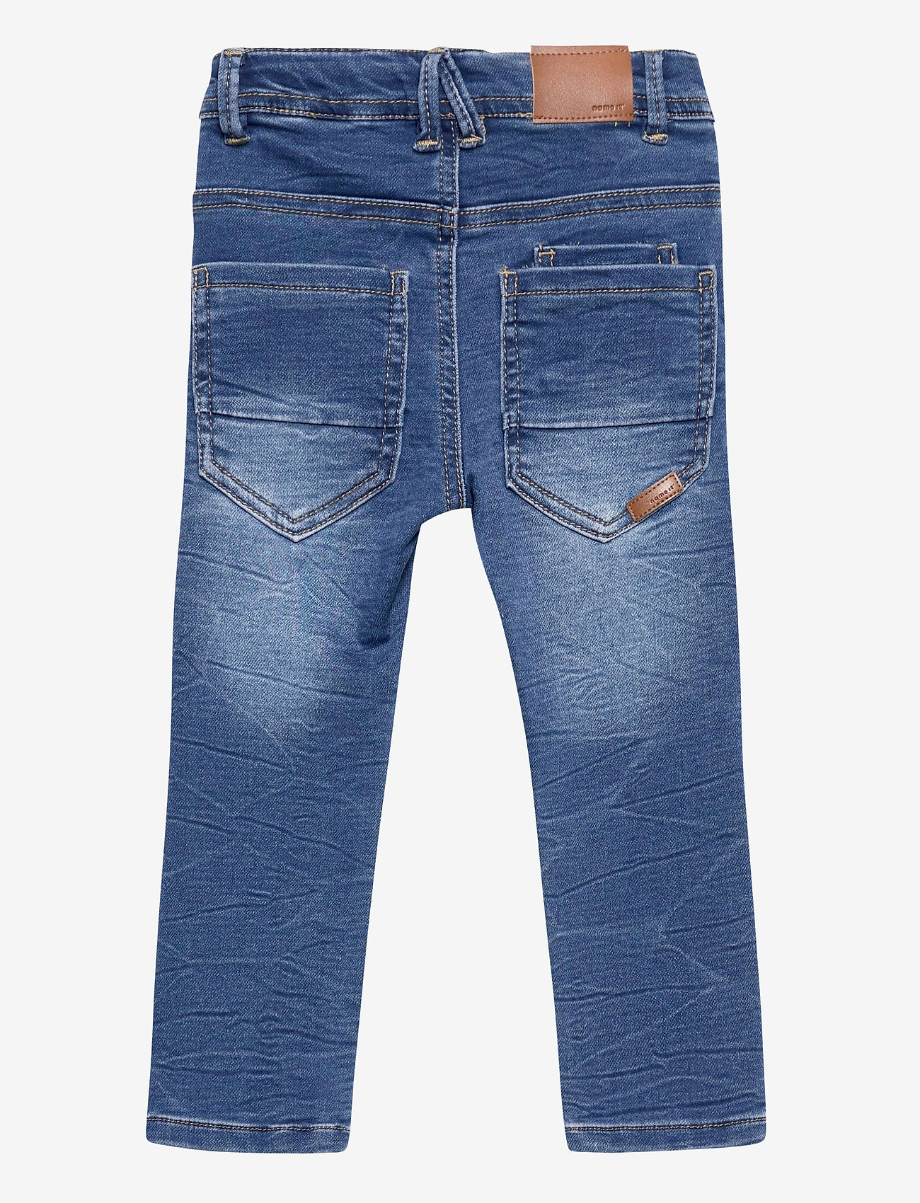 name it - NMMTHEO DNMTOBOS 2458 SWE PANT NOOS - jeans - medium blue denim - 1