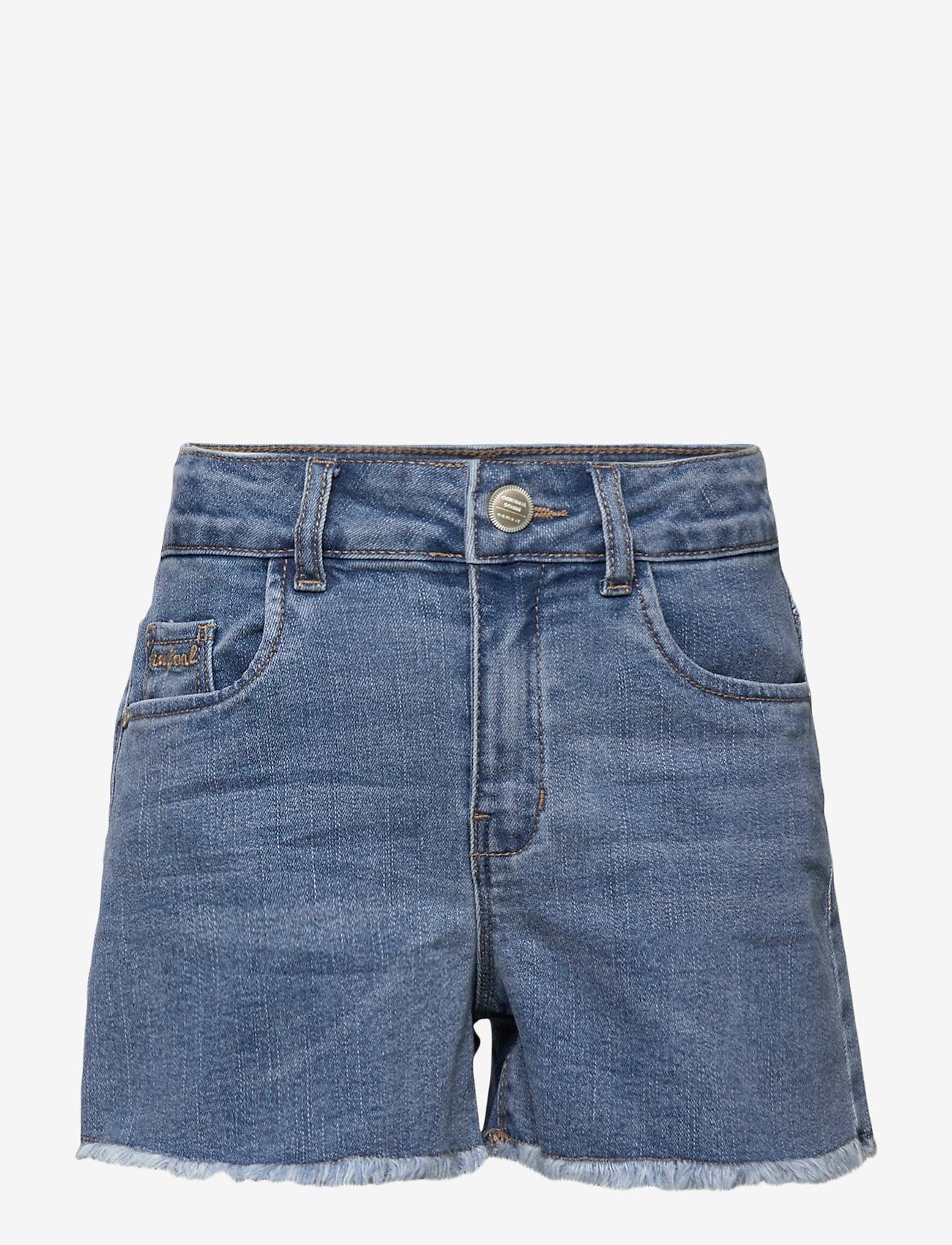 name it - NKFRANDI DNMTECES 2471 HW MOM SHORT NOOS - shorts - medium blue denim - 0