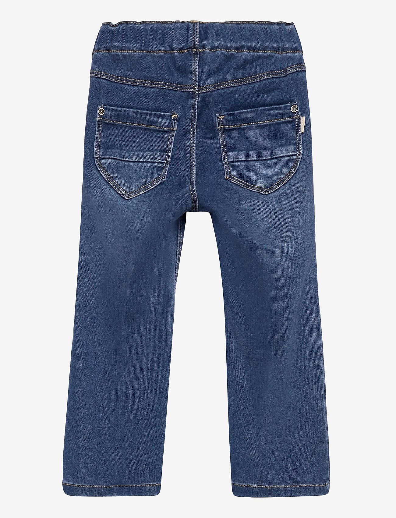 name it - NMFPOLLY DNMATORAS 2467 BOOT LEGGING - jeans - medium blue denim - 1