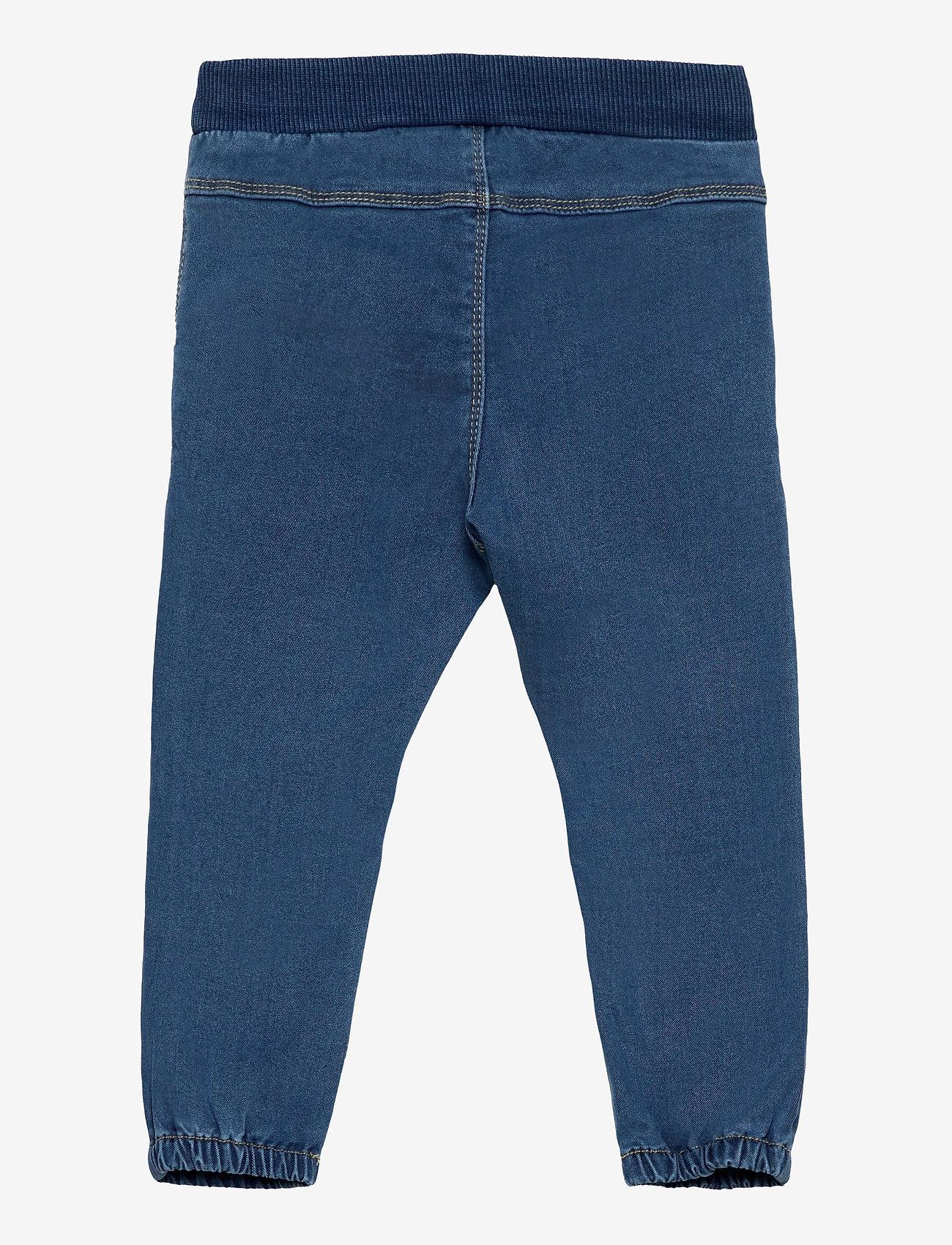 name it - NMFRIE DNMTORAS 2454 PANT NOOS - jeans - medium blue denim - 1