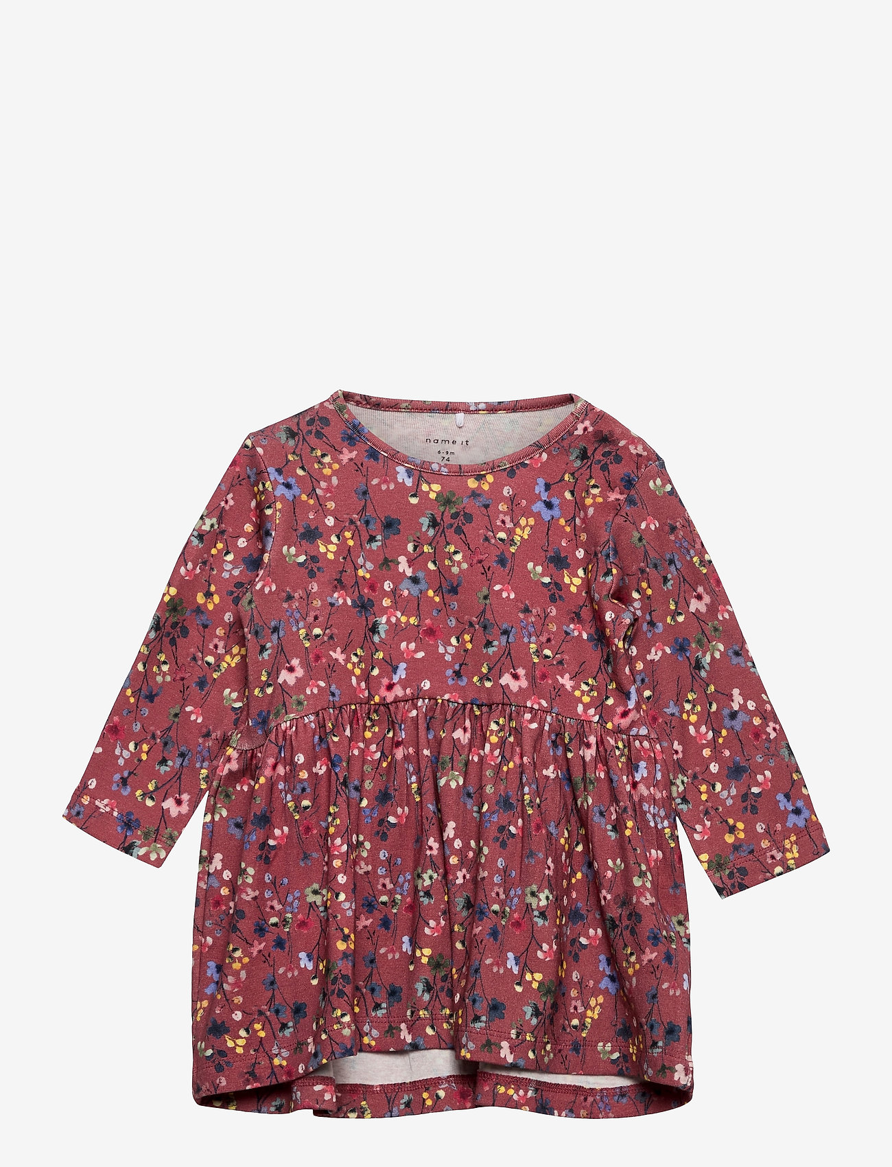 name it - NBFTESSIE LS DRESS - kleider - withered rose - 0
