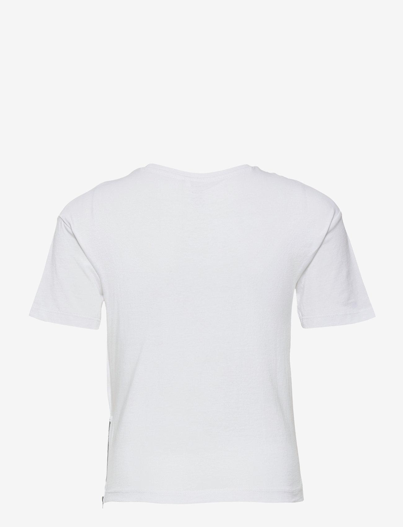 name it - NKMBALDERVI SS TOP - t-shirts - bright white - 1
