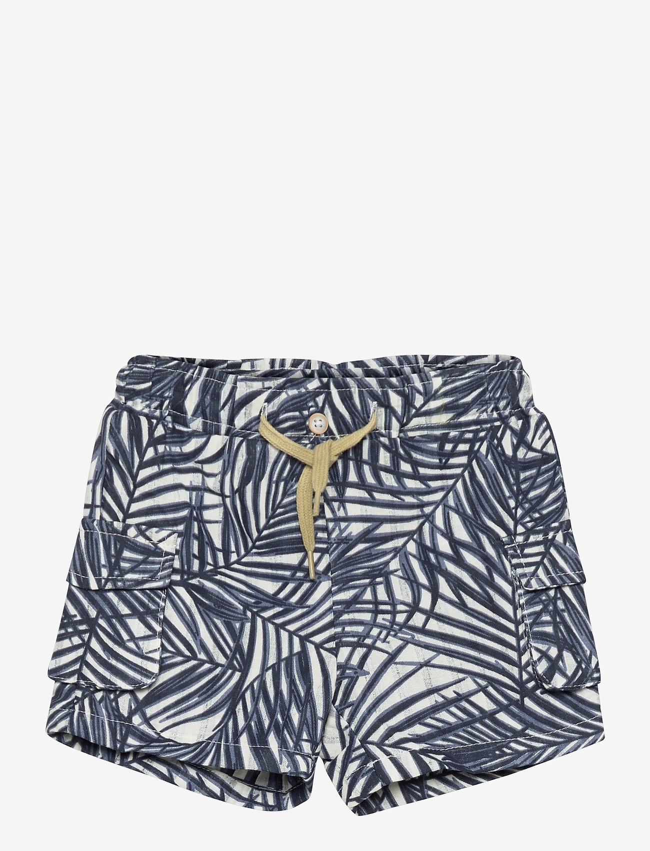 name it - NMMFERIE SHORTS F - shorts - dusty blue - 0
