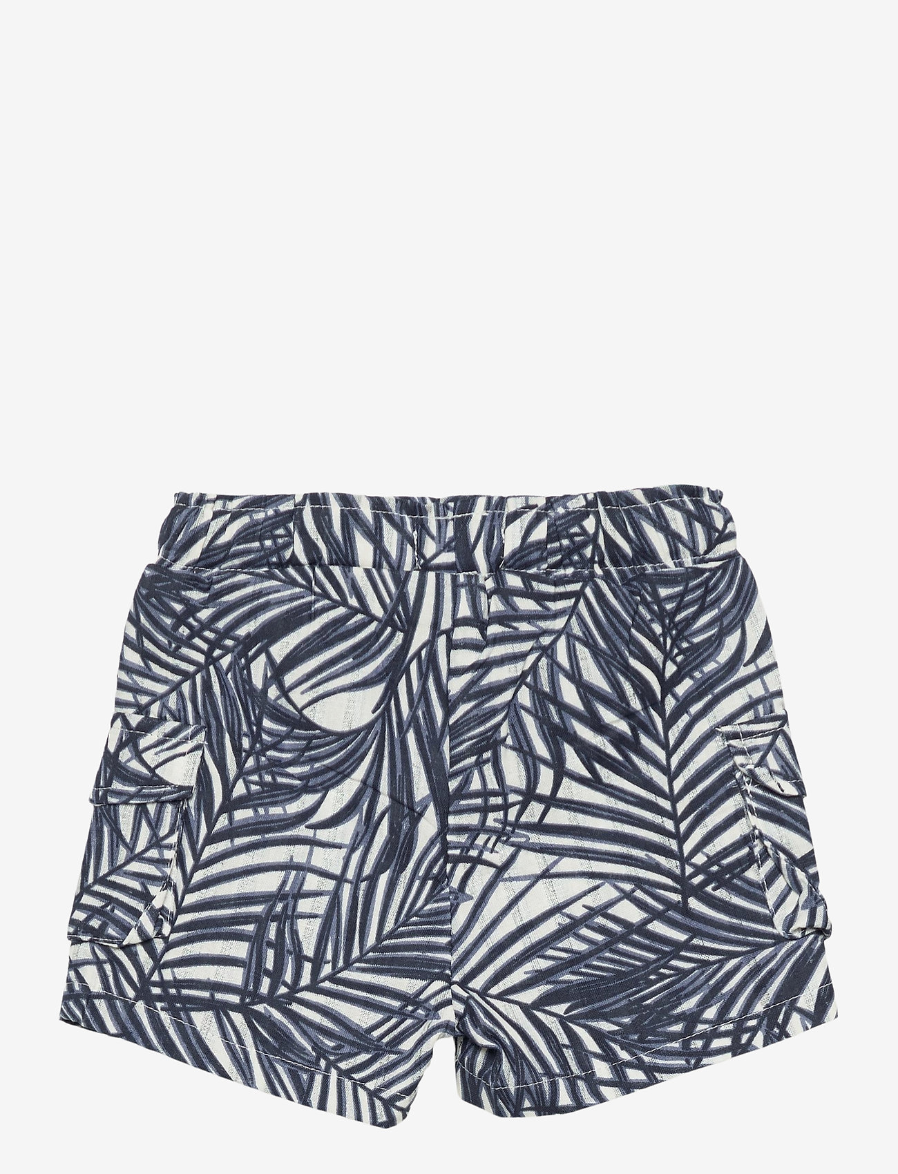 name it - NMMFERIE SHORTS F - shorts - dusty blue - 1