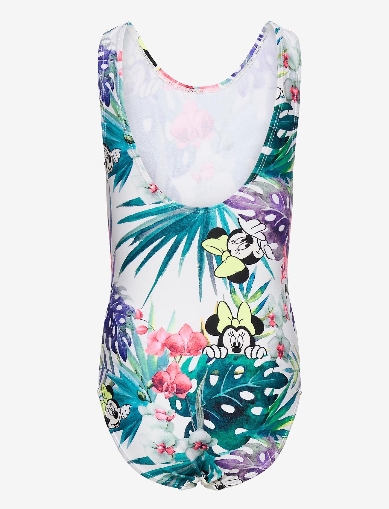 name it - NKFMINNIE MATINA SWIMSUIT WDI - swimsuits - bright white - 1