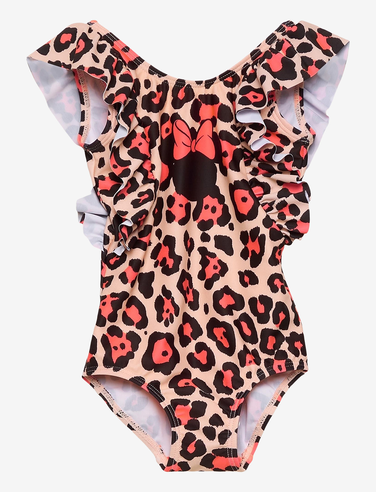 name it - NMFMINNIE MIMI SWIMSUIT WDI - swimsuits - peach whip - 0