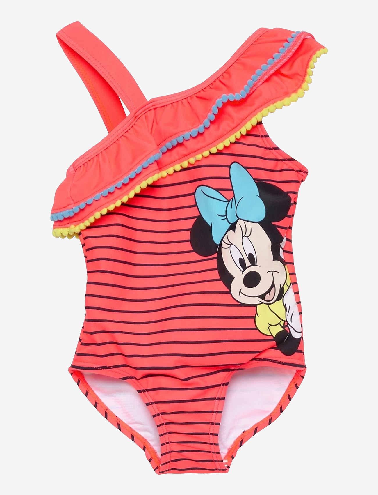 name it - NMFMINNIE MONJA SWIMSUIT WDI - swimsuits - fiery coral - 0