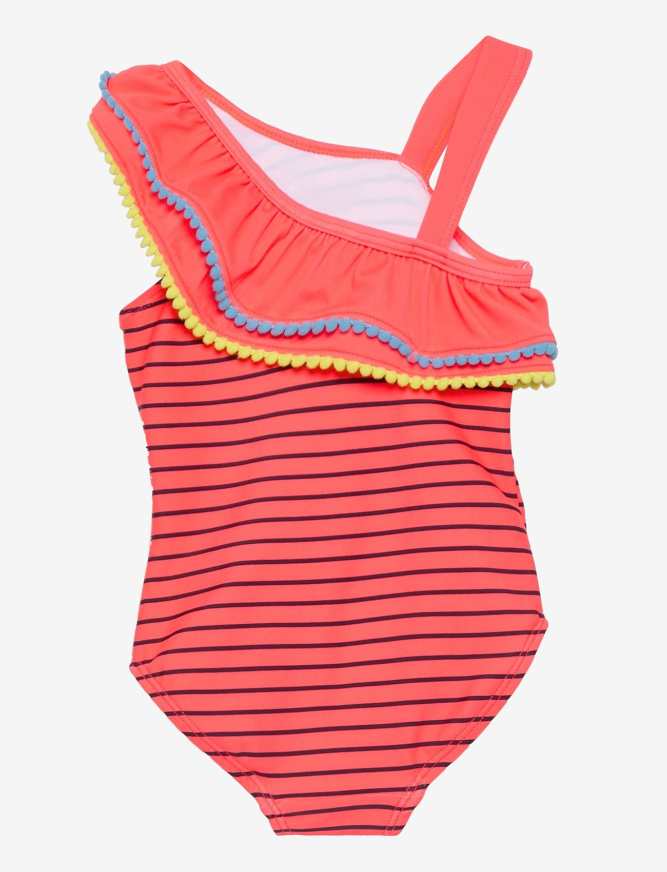 name it - NMFMINNIE MONJA SWIMSUIT WDI - swimsuits - fiery coral - 1