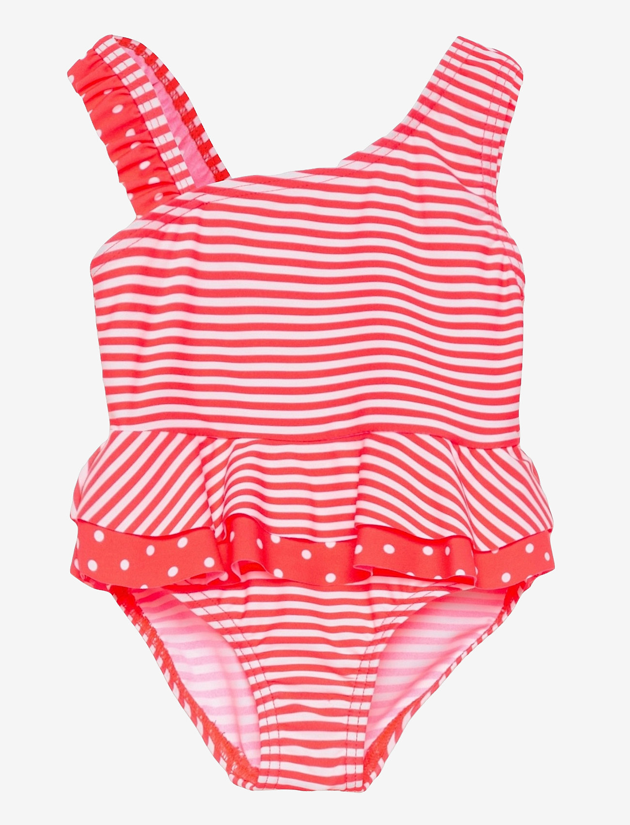 name it - NMFZANANA SWIMSUIT - swimsuits - fiery coral - 0