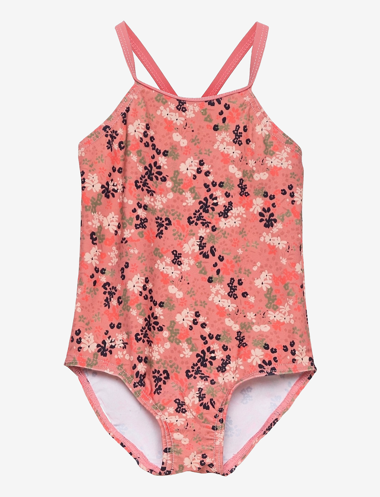 name it - NMFZIFLOWER SWIMSUIT - swimsuits - dusty rose - 0