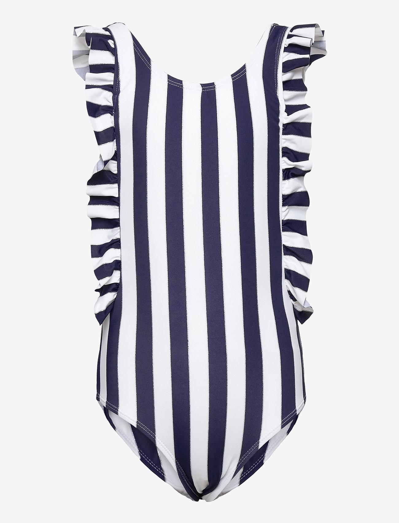 name it - NKFZANNE SWIMSUIT - swimsuits - dark sapphire - 0
