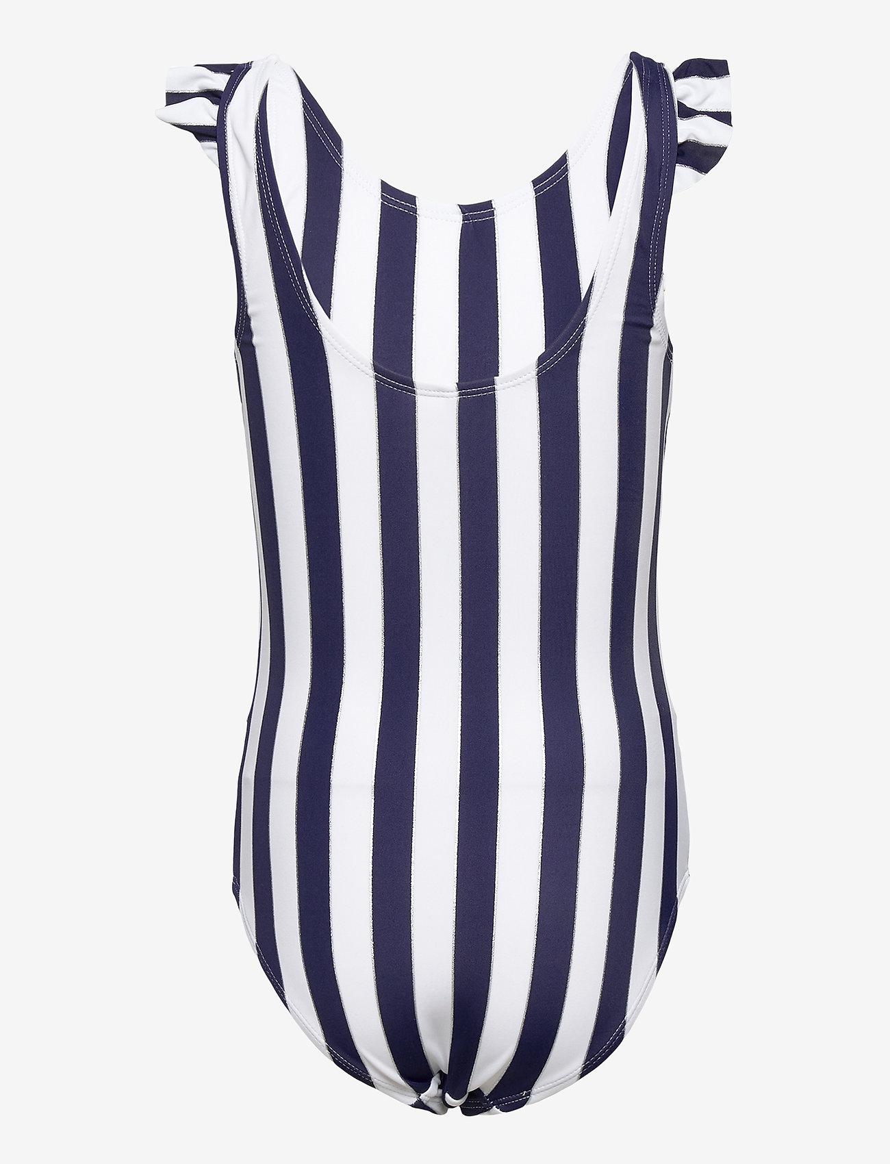name it - NKFZANNE SWIMSUIT - swimsuits - dark sapphire - 1