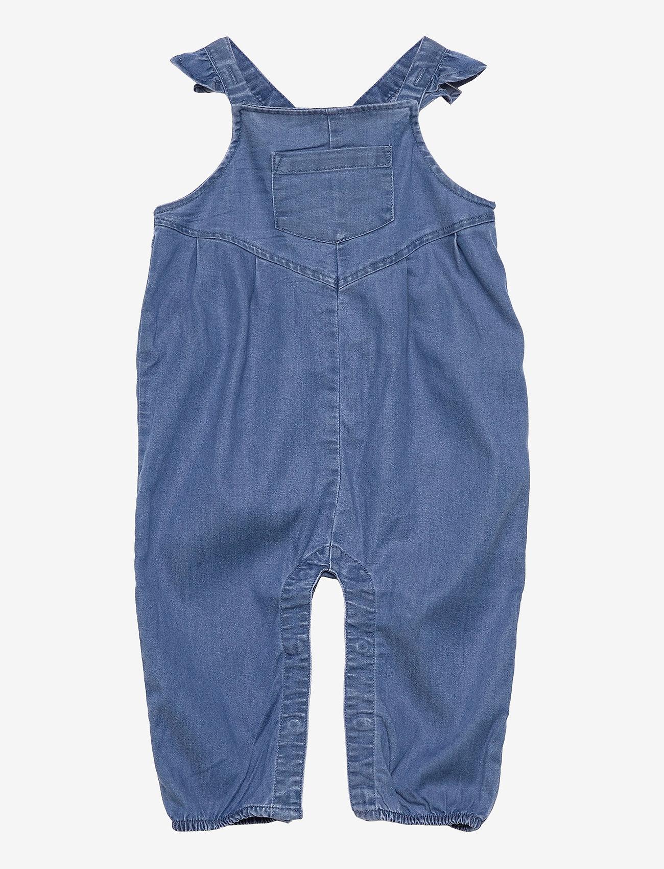 name it - NBFATAS DNM 2489 OVERALL - overalls - medium blue denim - 0