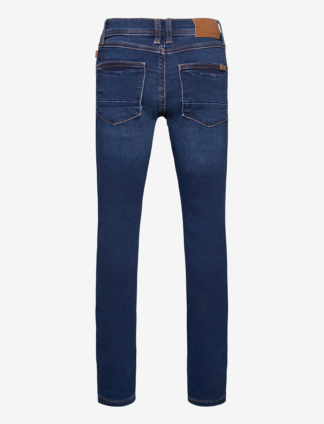 name it - NKMTHEO DNMTIMES 3470 SWE PANT NOOS - jeans - dark blue denim - 1