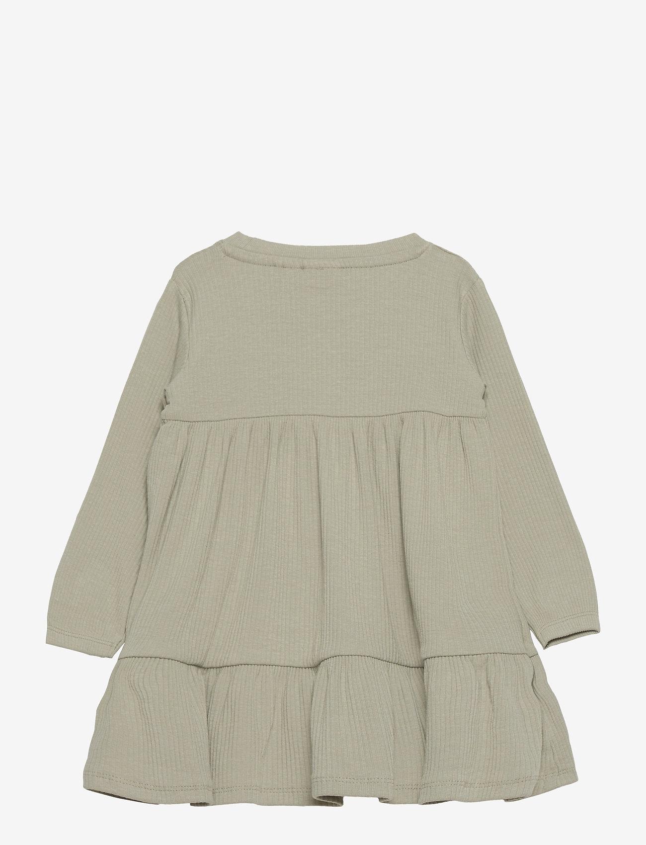 name it - NMFFABBI LS DRESS - kleider - desert sage - 1