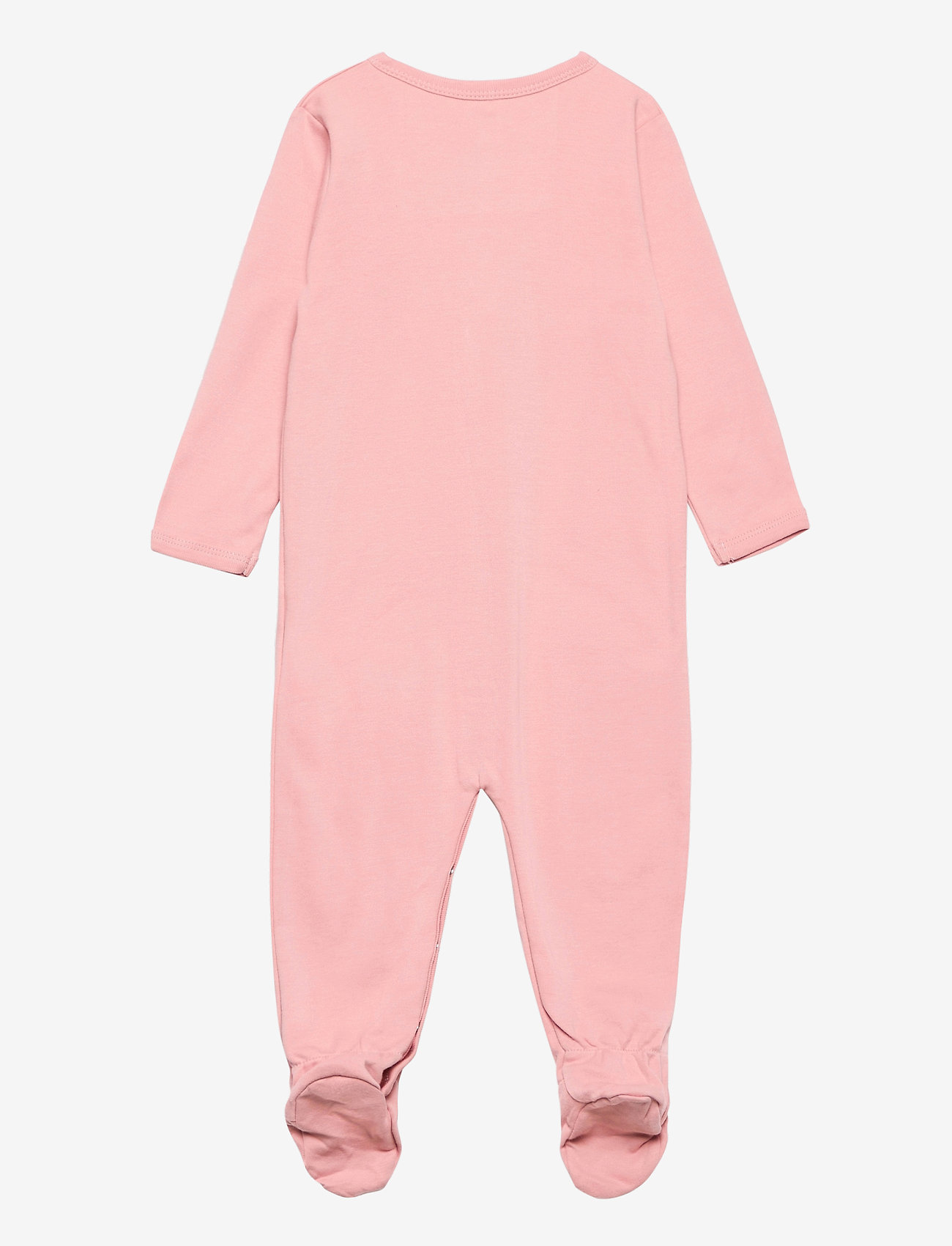 name it - NBFNIGHTSUIT 2P W/F SILVER PINK - langärmelig - silver pink - 1