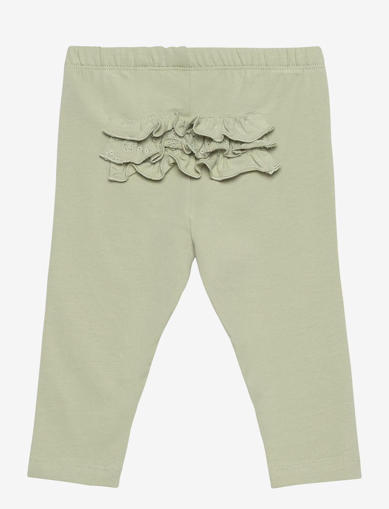 name it - NBFDORIT LEGGING - leggings - desert sage - 1