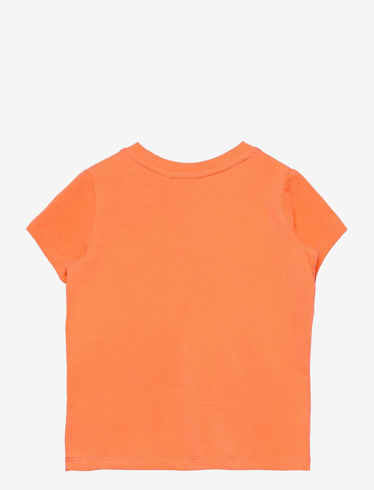 name it - NMMFANO SS TOP BOX - t-shirts - melon - 1