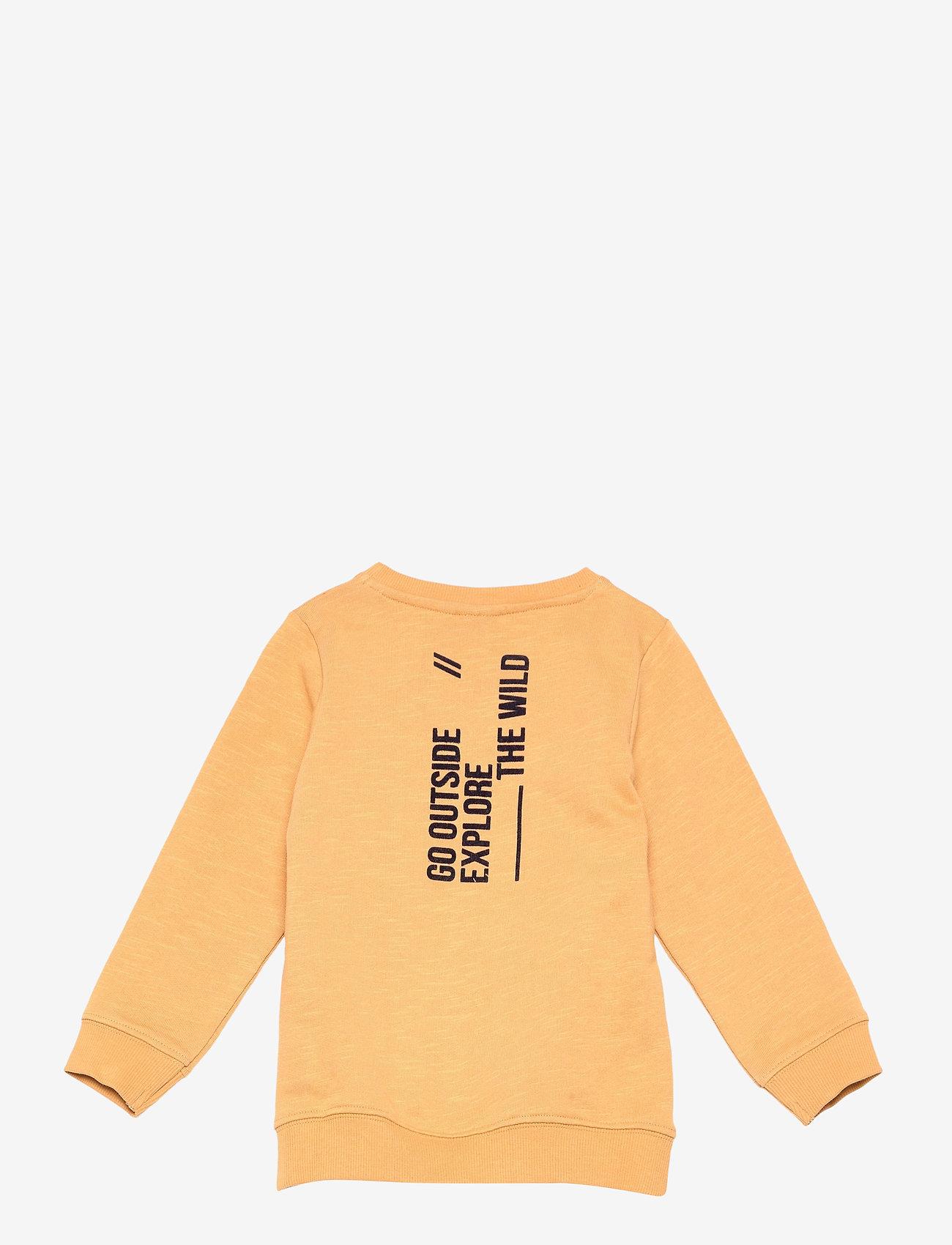 name it - NMMDASSI LS SWEAT UNB - sweatshirts - spruce yellow - 1