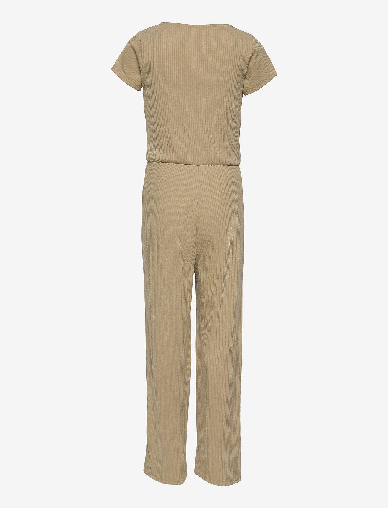 name it - NKFDIWA SS WRAP SUIT - jumpsuits - silver sage - 1